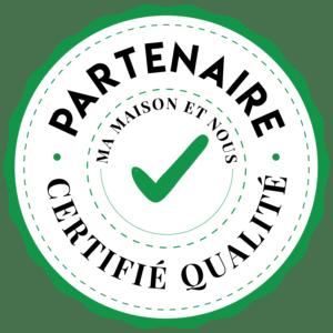 Macaron Ma Maison et Nous, Partenaire certifié qualité