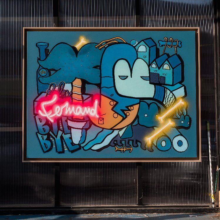 street art deco interieure