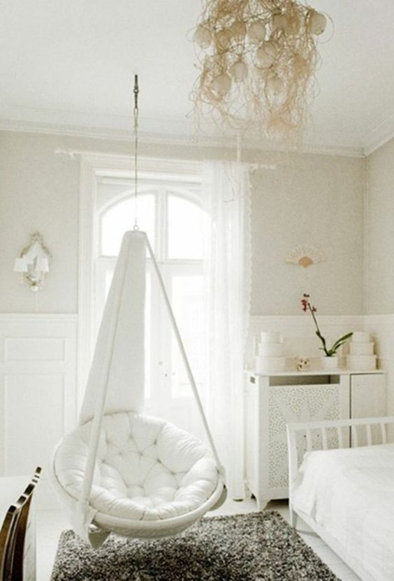 balancoire chambre cocooning