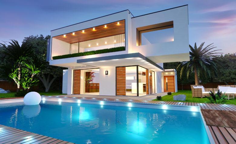 Construction… La maison cubique, une des tendances de l\'habitat ...