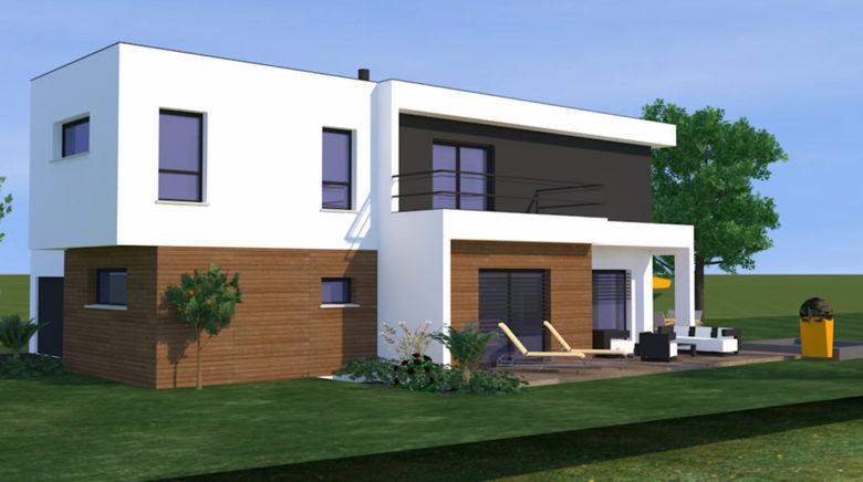 Construction… La maison cubique, une des tendances de l ...