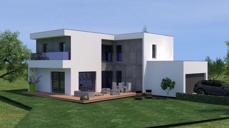 Construction La Maison Cubique Une Des Tendances De L Habitat Moderne Ma Maison Et Nous