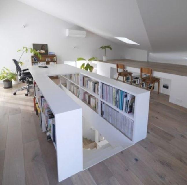 combles bibliothèque