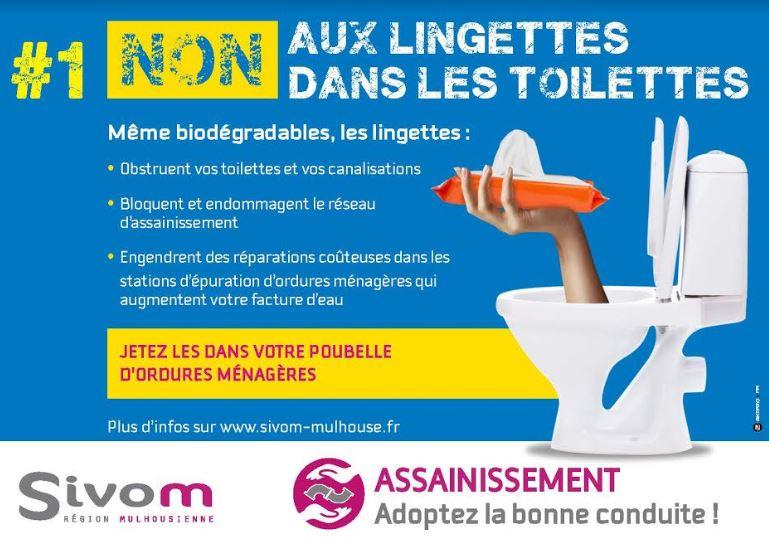lingettes toilettes