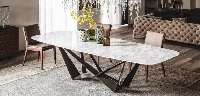 Table de salle à manger design, industrielle, céramique ...