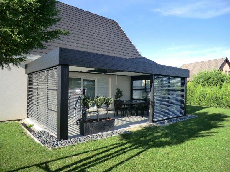 veranda-toit-plat