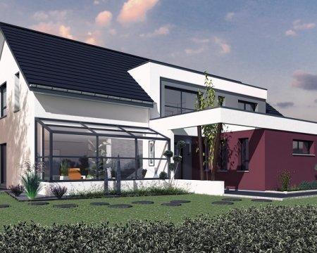 Modèle maison crisalis extérieur
