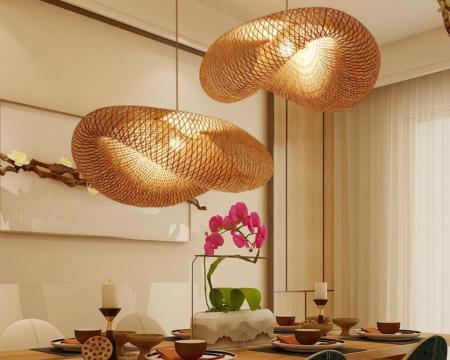 Lampe-suspendue-en-bambou-rotin-et-osier-style-japonais-design-rustique-Vintage-luminaire-d-coratif-d