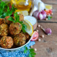 Falafel - deep fried balls of ground chickpeas