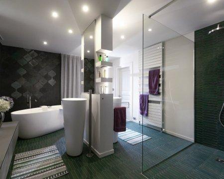 Conception d'une salle de bains à Mulhouse - 1